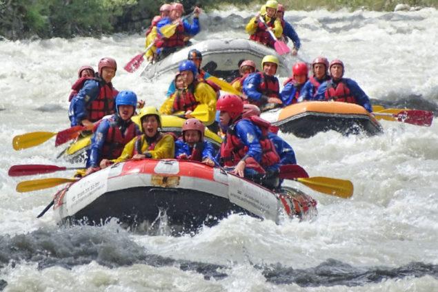 rafting escursioni in valle d'aosta