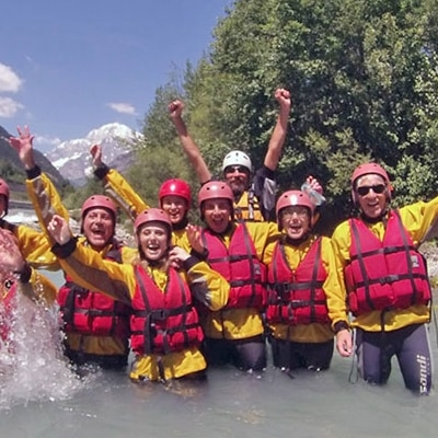 discesa rafting intermedia in Valle d'Aosta