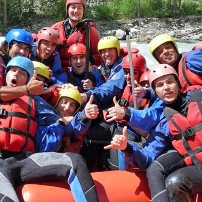 discesa rafting non stop in Valle d'Aosta